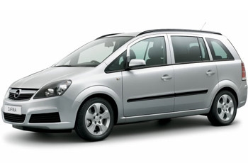 Siofoki Taxi  &  Minibus Transfer Service, Taxi: Opel Zafira Large Taxi for max. 6 passengers